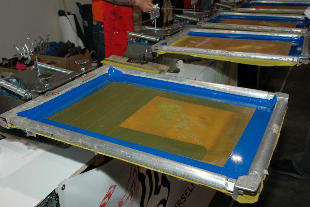 Silk-screen print